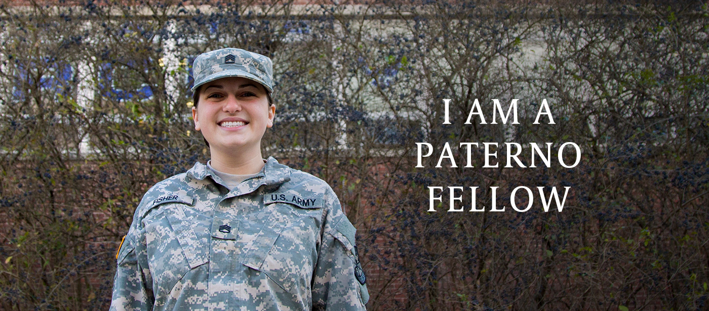 Brenna Fisher - I am a Paterno Fellow